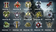 Call of duty black ops prestiges