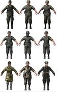 German character models WaW