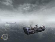 Landing crafts The Battle of Pointe Du Hoc