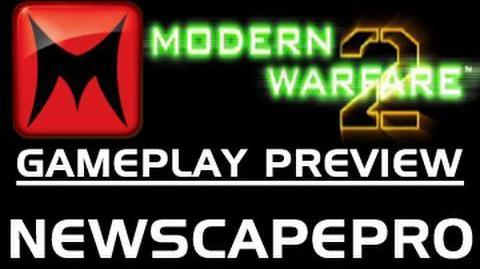 Modern Warfare 2 Global Thermonuclear War First Look by NewScapePro (MW2 Gameplay Preview)