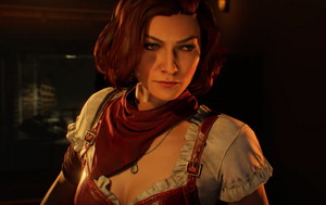 Scarlett Glares at Cultist Bo4