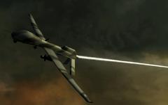 Predator Drone Mid-Air