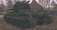 T-34 Rear View UO