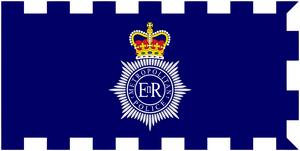 Флаг полиции Лондона