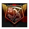 20 Streak Medal BOII