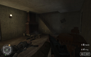 Interior of fifth house Approaching Hill 400 CoD2