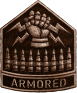 Armored Division Bronze WWII