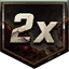 Double Points Icon
