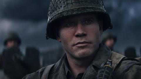 """Call of Duty® WWII – Meet the Squad """"Red"""" Daniels"""