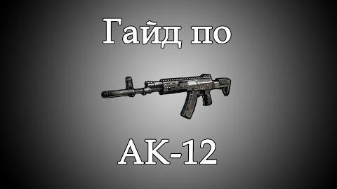Call of Duty Ghosts - Гайд по АК-12