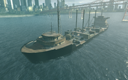 Cargo Ship Suspension MW2