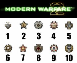 Modern warfare 2 prestige symbols