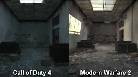 Call of duty Modern Warfare 2 Resurgence map pack comparison - Vacant