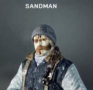 Sandman Face Paint BO