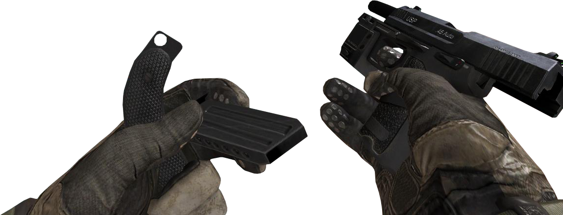 USP  45/Attachments | Call of Duty Wiki | FANDOM powered by