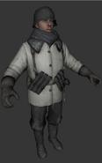German soldier model BO