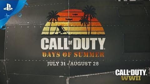 Call of Duty WWII - Days of Summer Trailer PS4