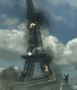 Eiffel Tower Collapse