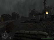 Stalingrad going to the car cover CoD1