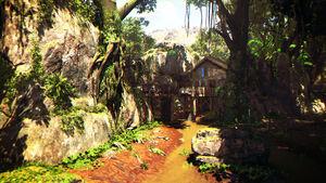 Jungle MenuScreen BO4