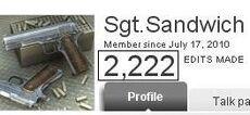 Personal Sgt.Sandwich2222 W00T