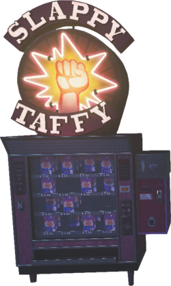 Slappy Taffy Perk Machine IW