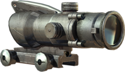 ACOG Scope menu icon MW3