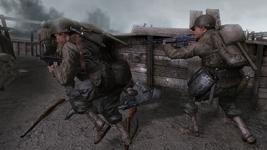 Rangers trench battle CoD2