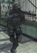 SAS Soldier MP5 Underground MW3