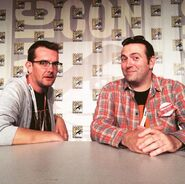 Craig Houston and Jason Blundell Comic Con