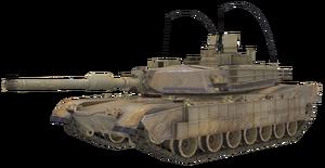 M1A2 Abrams model CoDG