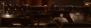 Tesla Gun Side View WWII