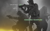 SCAR-L only appearance MP menu MW2