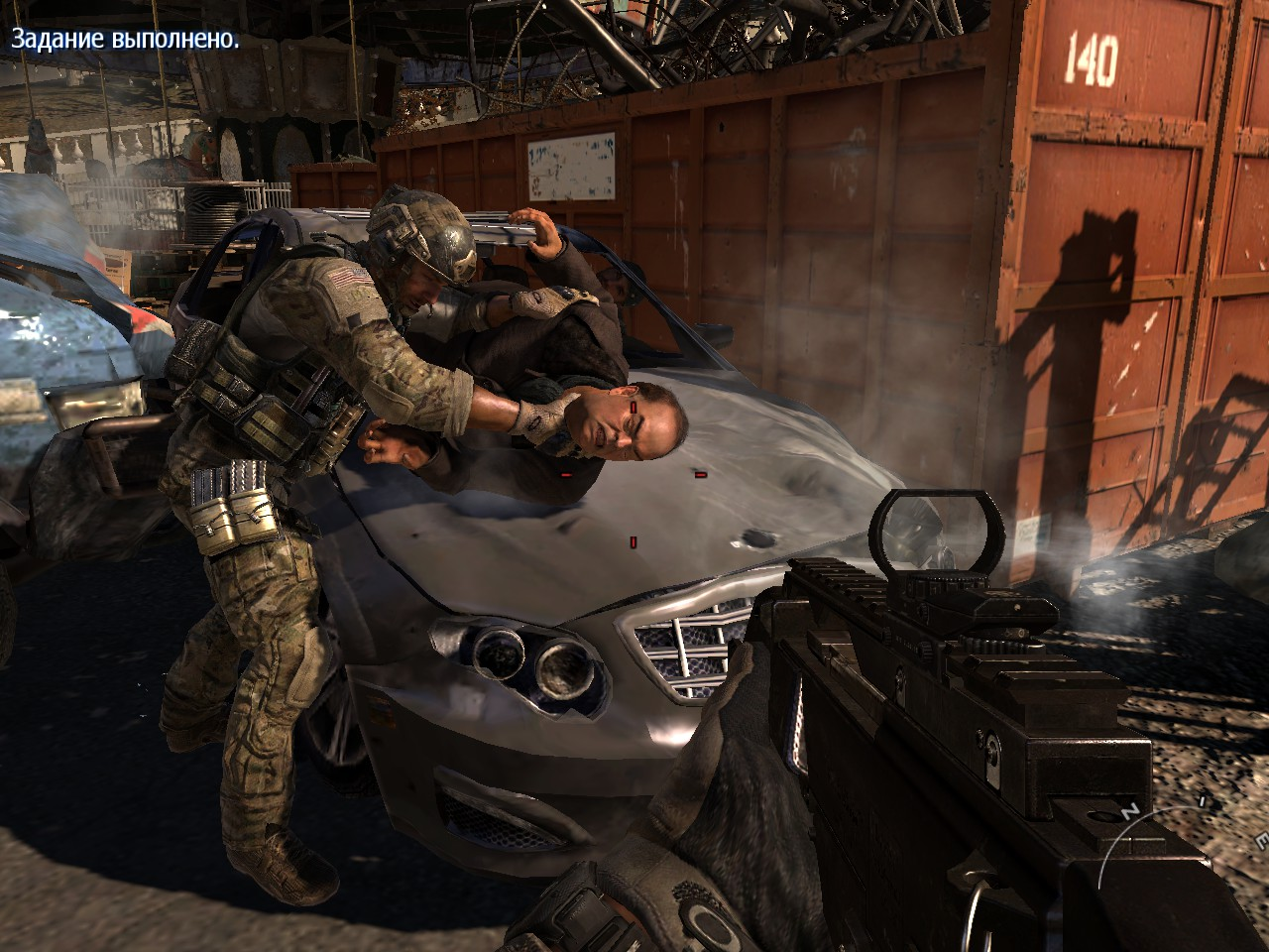 Sandman Torturing Volk MW3