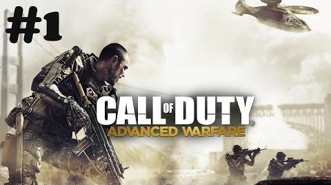 """Call of Duty Advanced Warfare"" walkthrough (Veteran difficulty) Mission 1 Induction"