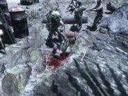 Рандом убит катаной