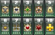 Call of duty 4 prestiges