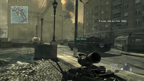 MW3 Pit Boss Tank Third Person