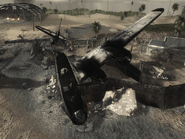 Crashed B-17 Airfield WAW