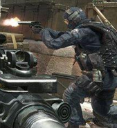 GIGN using Desert Eagle MW3
