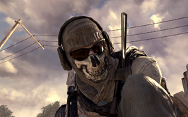 Ghost close-up MW2