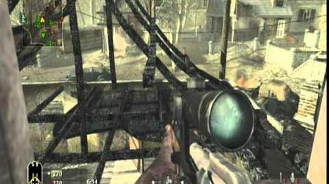 Call Of Duty World at War gameplay in Upheaval