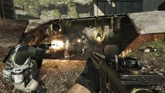 Catwalk Firefight Aground MW3
