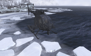 Front view Hornet Two Two Gulag MW2