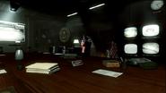 John Kennedy in corner