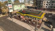 BurgerTown Verdansk Warzone MW