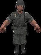 German Wehrmacht model WaW