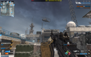 Attack Helicopter over Sub Base CoDO