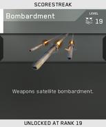 Bombardment Unlock Card IW