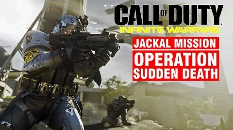 Call of Duty Infinite Warfare JACKAL Mission - Operation SUDDEN DEATH Campaign Gameplay Walkthrough